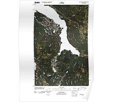 USGS Topo Map Washington State WA Lake Whatcom 20110504 TM Poster