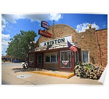 Route 66 - Ariston Cafe Poster