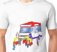 ice-cream holdup Unisex T-Shirt