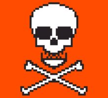 8 Bit Skull Kids Clothes