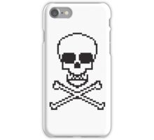 8 Bit Skull iPhone Case/Skin