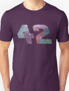 The answer to life, the universe and everything. Unisex T-Shirt