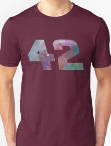 The answer to life, the universe and everything. T-Shirt