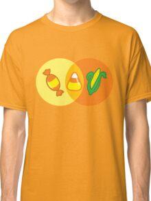 Candy Corn Venn Classic T-Shirt
