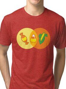 Candy Corn Venn Tri-blend T-Shirt