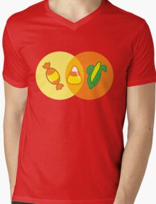 Candy Corn Venn Mens V-Neck T-Shirt