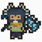 Pixel Brolaf by Pixel-League