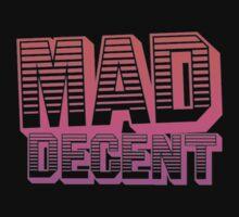 Mad Decent - Pink & white by Ilona Huguenin