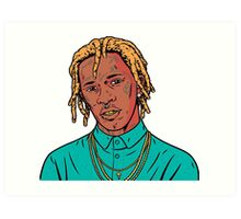 Young Thug Art Print