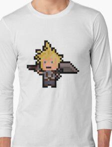 Pixel Cloud Long Sleeve T-Shirt