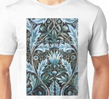 William Morris Blue Pattern Unisex T-Shirt