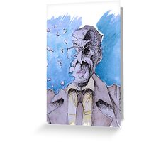 Gus Fring Greeting Card