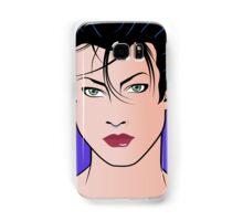 Pop Art Illustration of Beautiful Woman Sara Samsung Galaxy Case/Skin