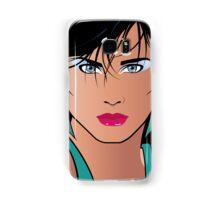 Pop Art Illustration of Beautiful Woman Veronica Samsung Galaxy Case/Skin