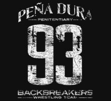 Peña Dura Backbreakers Wrestling Team T-Shirt