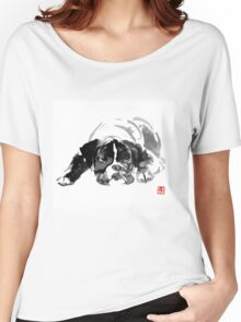 sad dog Women's Relaxed Fit T-Shirt