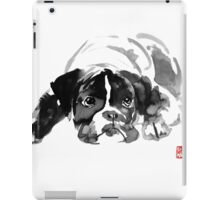 sad dog iPad Case/Skin