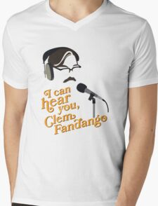 "Toast of London - ""I can hear you, Clem Fandango"" Mens V-Neck T-Shirt"