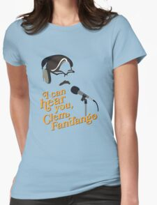 "Toast of London - ""I can hear you, Clem Fandango"" Womens Fitted T-Shirt"