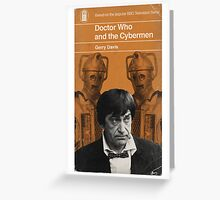 Doctor Who and the Cybermen - Penguin style Greeting Card