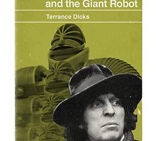 Doctor Who and the Giant Robot - Penguin style by JGarrattley