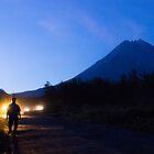 Merapi Silhouettes by ferryvn