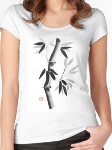 bamboos Women's Fitted Scoop T-Shirt
