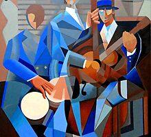 Blue Trio by Tony Velez