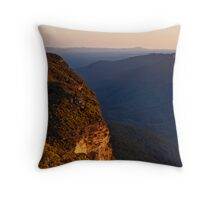 Kings Tableland Throw Pillow
