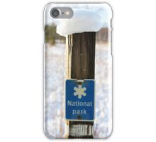 The National Park iPhone Case/Skin