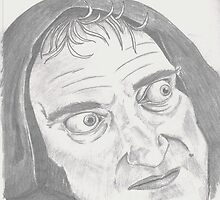 Marty Feldman by sketchingbrad