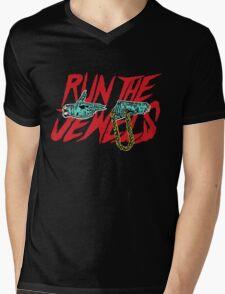 run t j Mens V-Neck T-Shirt