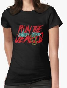 run t j Womens Fitted T-Shirt