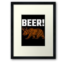 Beer! Framed Print