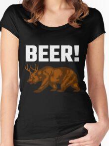 Beer! Women's Fitted Scoop T-Shirt