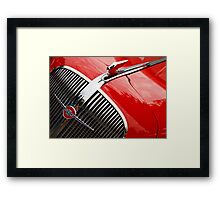 Red Chevy Framed Print