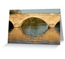 Bridge on the Thames Greeting Card