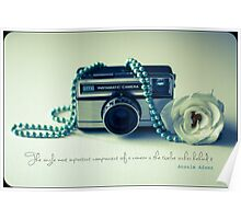 Instamatic Photography Poster