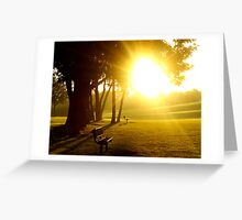 Distant Hope Greeting Card