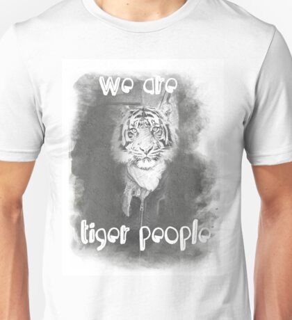 Tiger people V2 Unisex T-Shirt