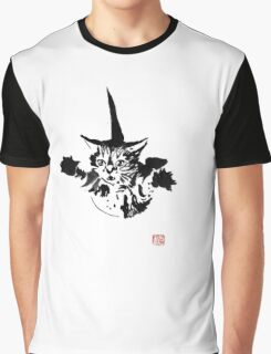 falling cat Graphic T-Shirt