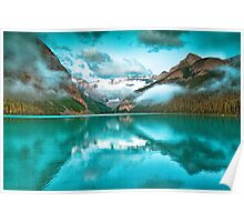 Lake Louise Reflection  Poster