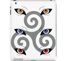 wolf triskele iPad Case/Skin