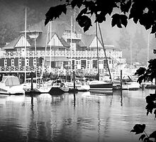 Boathouse at Stanley Park by stevefinn77