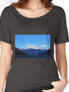 LakeTe Anau and the Mountains Women's Relaxed Fit T-Shirt