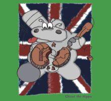 Hippo Union Jack Thrash Kids Tee