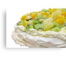 Fruit Pavlova Dessert Canvas Print