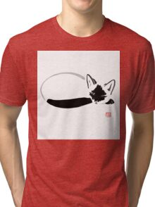 siamese sleeping Tri-blend T-Shirt