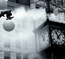Gastown Steamclock by stevefinn77