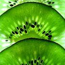 Macro Kiwi Fruit by LifeisDelicious